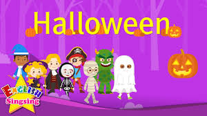 kids vocabulary halloween halloween monster costumes english