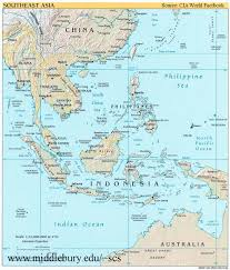 the sea map and political maps the south china sea