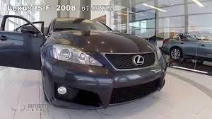 lexus isf toronto lexus is f 2008 stock u9695a youtube