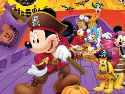 my free wallpapers cartoons wallpaper mickey halloween