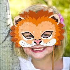lion mask for kids lion mask printable animal masks childrens party pdf