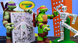 easy animation studio crayola color alive teenage mutant