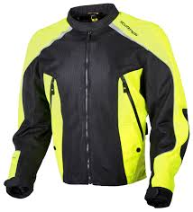 mesh motorcycle jacket scorpion ascendant hi viz jacket revzilla