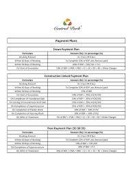 price list of central park flower valley gurgaon sector 32 33
