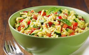 cuisiner des spaetzle salade de spätzles gourmandise allemande