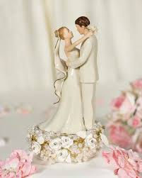 cake toppers wedding vintage pearl wedding cake topper