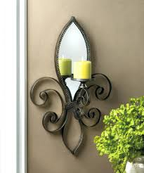 Wall Sconces Candles Holder Wall Ideas Decorative Candle Wall Sconces For Living Room George