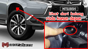 All New Pajero Sport List Kap Mobil Depan Molding Chrome letak no mesin dan rangka pajero modif abis