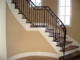 Metal Stair Banister Stylish Metal Stair Railing U2014 John Robinson House Decor Types Of