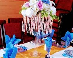wedding centerpiece tall vase etsy