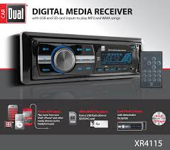nissan altima 2005 aux input amazon com dual electronics xr4115 multimedia detachable mechless