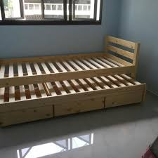 Seahorse Bed Frame Brand New Seahorse Bed With Pull Out Drawers Home Furniture