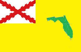 Spainish Flag Alternative Flag Of Spanish Florida By Joaomordecaimapper On