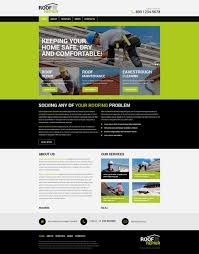 roofing company wordpress theme 50124