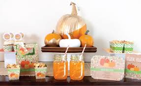 Fall Party Table Decorations - fall into fun with autumn party ideas big dot of happiness
