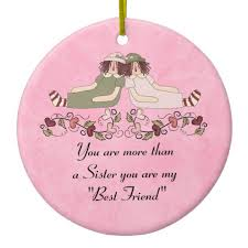personalized friends ornaments gifts for friends