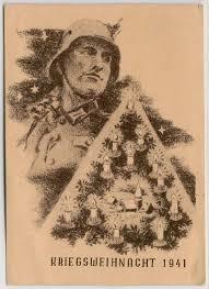 german christmas 1941 wwii postcard by teutonicnursemaid on