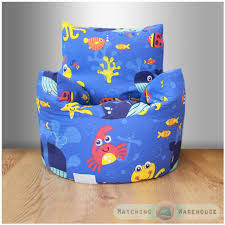 children u0027s beanbag chair space boy planet rocket kids bedroom