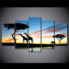 Posters For Home Decor by Online Get Cheap Safari Canvas Wall Art Aliexpress Com Alibaba