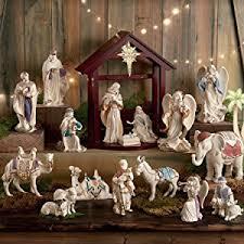 lenox nativity set of 7 holy family three