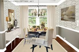 dining room wallpaper ideas dining room ideas my presto the lettered cottage