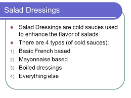 food prep salads cs1 ss foster learning objectives discuss
