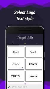 design font apk logo maker logo design generator apk download free art design