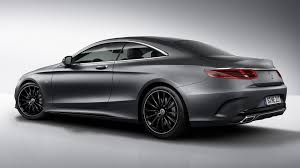 future mercedes s class mercedes benz s class coupe night edition announced with added