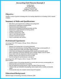 accounting skills resume resume for your job application
