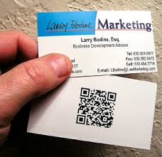 i just got business cards with my qr code larry bodine law
