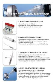 liquid light guide hcg mixing guide how to mix hcg injections fortitude vitamins