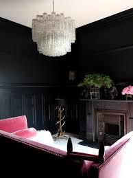 room with black walls rooms with black walls eclectic living room farrow ball