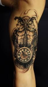 melting clock tattoo tattoo art design ideas