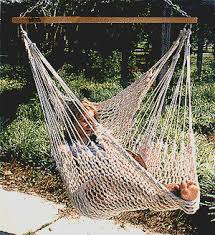 macrame furniture has anyone attempted a crochet macrame