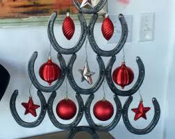 horseshoe christmas tree horseshoe christmas tree etsy