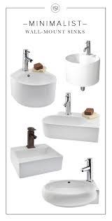 best ideas about small bathroom sinks pinterest wall mount sinks mounted bathroom