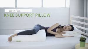 bed pillows for side sleepers best knee support pillow for side sleeper sleep yoga youtube