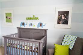 green blue u0026 gray elephant themed nursery project nursery