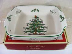 cookies cocoa with spode tree dishes and mugs by