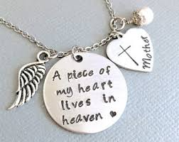 Personalized Memorial Necklace Remembrance Jewelry Etsy