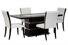 Beautiful Dining Room Table Black Gallery Room Design Ideas - Black and white contemporary dining table