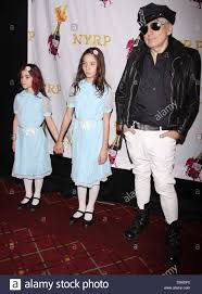 new york city halloween 2012 chris stein with his daughters akira and valentina attending the
