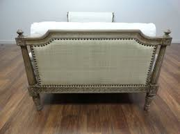 Wooden Carving Furniture Sofa Carved Wood Frame Daybed U0026 Mattress Mecox Gardens