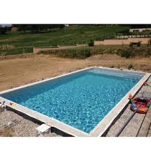 petite piscine enterree kit bloc polystyrène facilobloc à bancher pour piscine béton