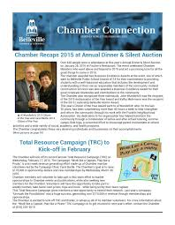 february 2016 chamber connection by the greater belleville chamber