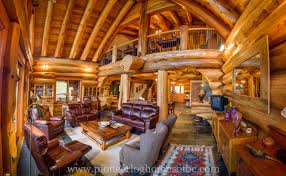 gallery living rooms and lofts pioneer log homes midwest