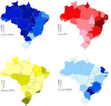 2014 Election Map by Guide To The 2010 Brazilian Election World Elections