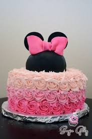 minnie mouse birthday cakes minnie mouse birthday cakes terrific minnie mouse rosette cake
