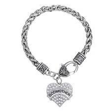 godmother bracelet best godmother bracelet gift tiny tootsies