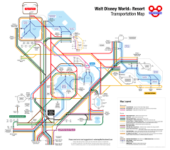 Map Of Beaches In Florida by Unofficial Map Transportation Of Walt Disney Transit Maps